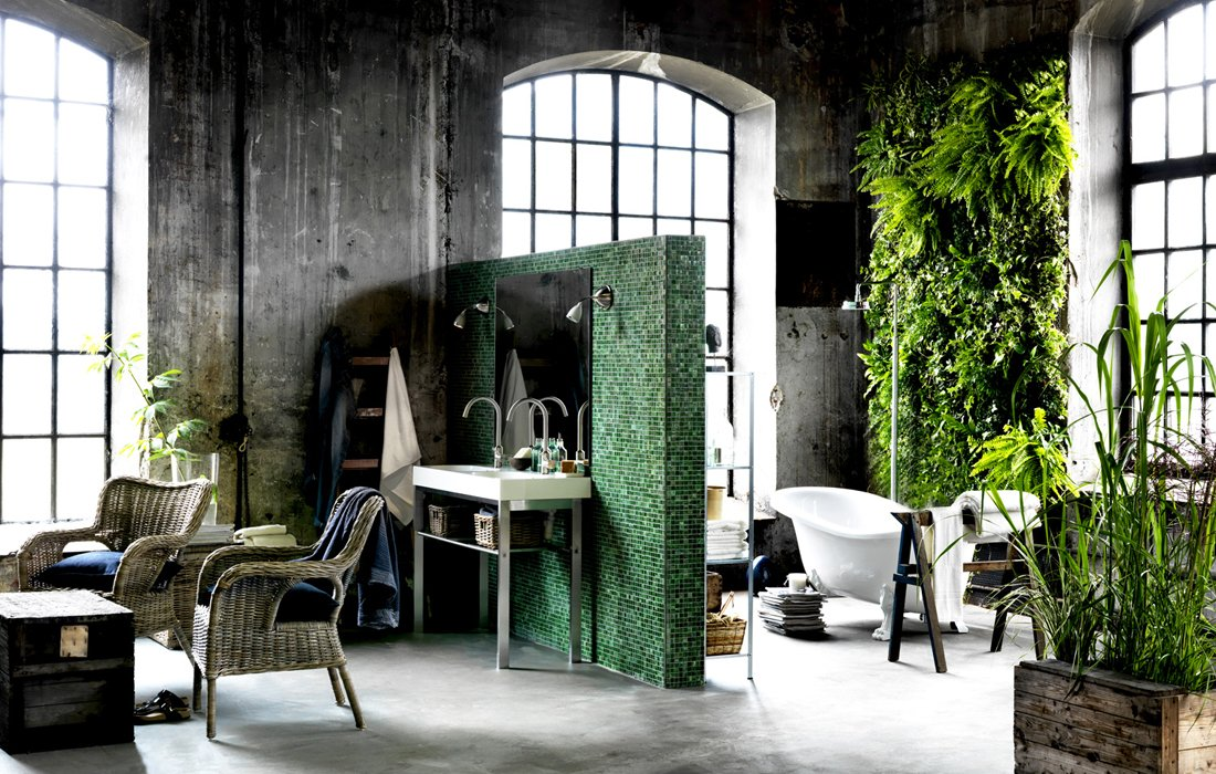 Baños Plantas Para Suerte:Bathroom Decorating with Plants